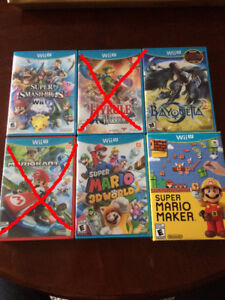 Misc. games (lots of nintendo and a couple PS4)