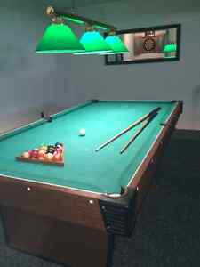 Pool Table with light and accesories Peterborough Peterborough Area image 9
