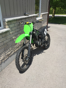 2003 KX 125 for sale with extras