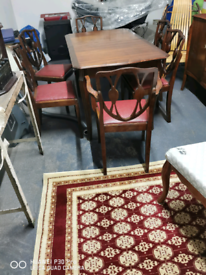 Dinning Table with 6 chair's