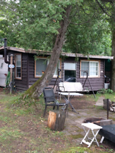 Trailer and bunkie..