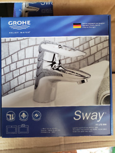 GROHE Faucet and GROHE Shower Head overstock