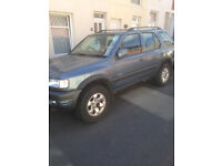 Vauxhall Frontera 2,2 diesel automatic