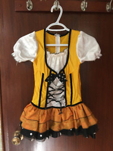 Costume d'Halloween de papillon ''Monarque''