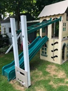 Playground Set... Made from recycled plastic and rubber