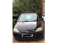 Black 1.2 Vauxhall corsa