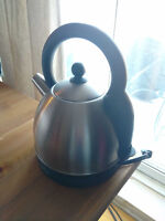 Brushed Stainless Steel Russell Hobbs Cordless Electric Kettle