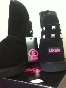 UKALA SYDNEY BOOT-WITHOUT THE UGG PRICE-STUDDED-WOOL-W 6