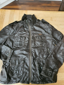 Superdry Vintage leather jacket