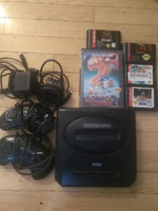 Sega genesis bundle 5 games