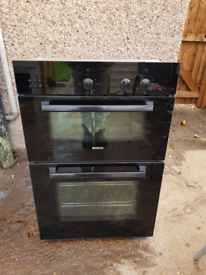 Bosch double electric oven built in 60cm