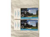 2x Season Tickets for the Women's British Open - Woburn