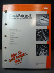 TRW Chassis Parts Vol. II