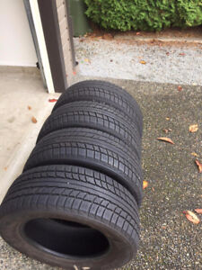 225/60/R16 Winter Tires (came off a BMW)