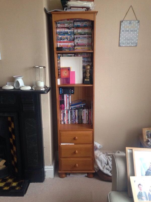 Solid Pine Tall Bookcase In Wirral Merseyside Gumtree