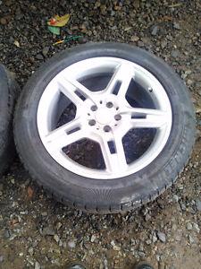 Mag Mercedes ML 19'' avec pneu hiver 255/50R19
