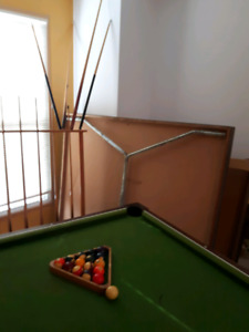 Table de pool et table de ping-pong
