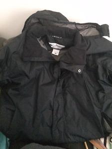 Men's Columbia Black Winter Jacket XXL