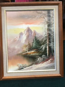 3 Beautiful Oil Paintings ( will sell separately )