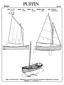 Make and Offer - End of a Dream Part Built Rowing/Sailing Dinghy