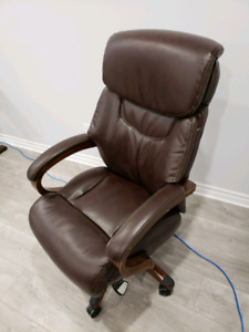 LEATHER OFFICE CHAIR LAZY BOY
