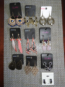 NEW large earrings - any two for $10 or ALL only $35!