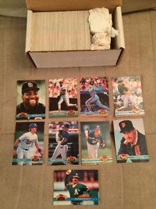 1991 Stadium Club Series 2 Baseball, Complete Set, Mint !