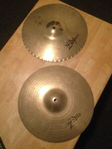 "Zildjian 14"" Mastersound Hi Hats (cracked)"