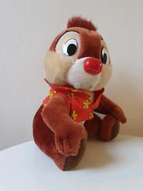 Chip 'n' Dale - Vintage Soft Toy Plush Walt Disney World DisneyLand