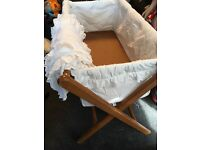 White Cloth Crib