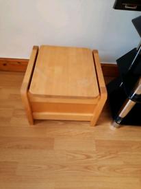 Footstool Ottoman Box
