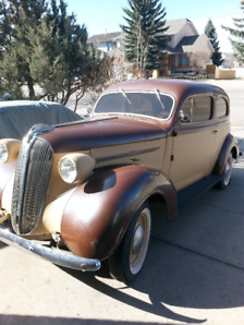 1937 Plymouth 2 door