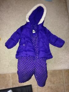 Girls snowsuit 18 months