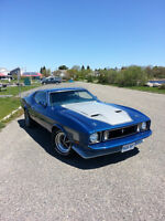 1973 Ford Mach 1 Mustang Custom Fastback