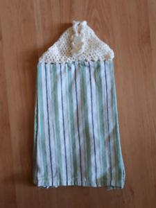 Hanging hand towel - brand new, home made