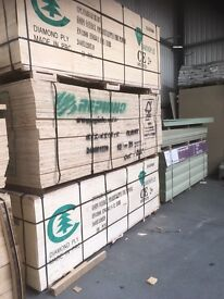 Plywood 18mm builders grade
