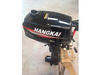 Hangkai 4hp 2 stroke outboard engine