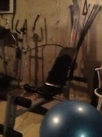 Complete exercise gym. ( Moving out sale )Redused for quick sale