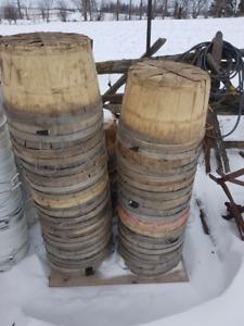 used bushel baskets