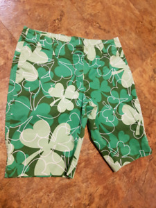 Ladies Loudmouth Golf shorts sz 8