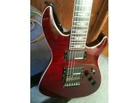 Michael Kelly hex deluxe electric guitar
