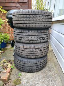 Rapid P609 tyres 205 40 R17