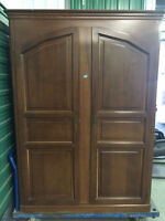 Extra large armoire for sale.