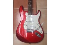 Fender Mexican stratocaster 2006 candy apple red