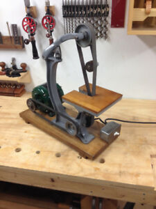 MEAD cast iron belt sander