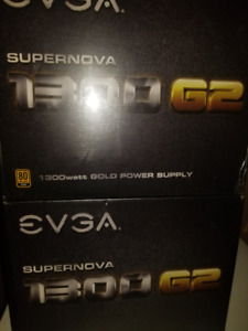 EVGA SuperNOVA 1300 G2, 80+ GOLD Fully Modular power supply