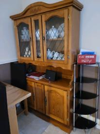 Large real wood dresser
