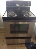 Kenmore stainless stove