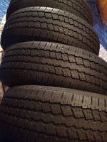 4/ CONTINENTAL p235 70 16 M&S TIRES