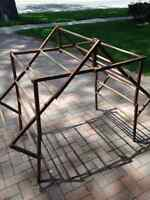 Drying rack antique wood
